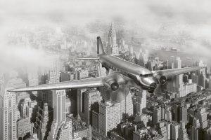 Fototapet Vintage Airplane
