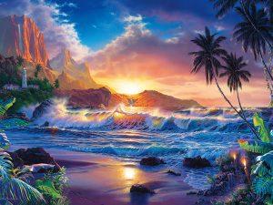 Fototapet paradise
