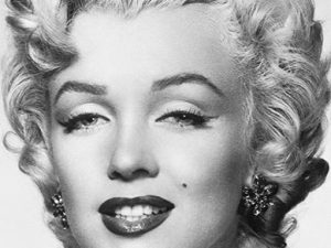 Fototapet vintage Marilyn Monroe