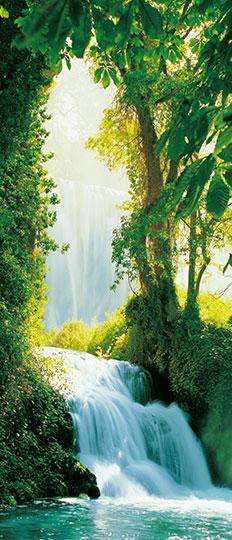 Fototapet peisaj natura Zaragossa Falls