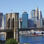 Fototapet Brooklyn Bridge - door