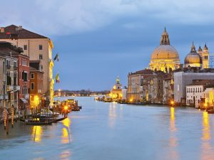 Fototapet Grand Canal Venice