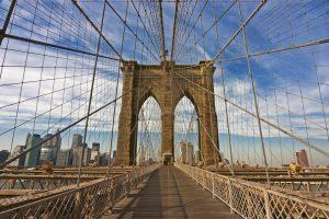 Fototapet on Brooklyn Bridge