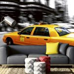 Interior New York City Taxi 3D